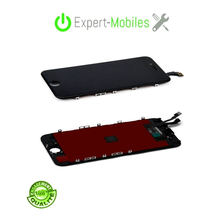 Écran de remplacement pour iPhone 6G Noir reconditionné LCD Apple