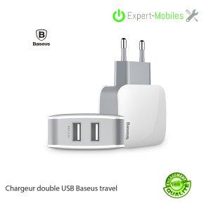 Chargeur Baseus Double USB LETOUR 2.4 A Universel