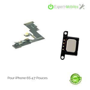 Combo écouteur interne + nappe caméra frontale, capteur de proximité pour iPhone 6S