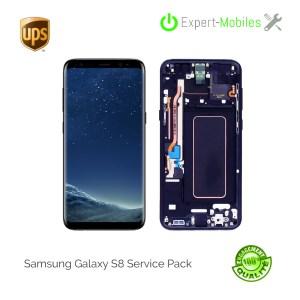 Ecran de remplacement pour Samsung Galaxy S8 G950F service Pack