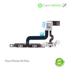 NAPPE VOLUME MUTE POUR IPHONE 6S PLUS 5.5 P AVEC CALLES