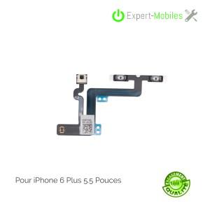 Nappe volume mute de remplacement pour iPhone 6 Plus 5.5 Pouces