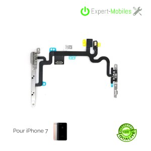 Nappe power volume mute flash micro pour iPhone 7