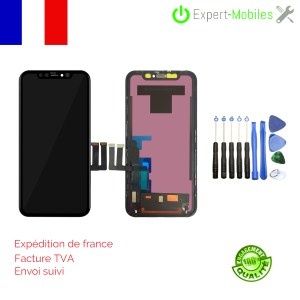 ECRAN LCD + Vitre tactile iPhone 11 NOIR COMPATIBLE DA INCELL