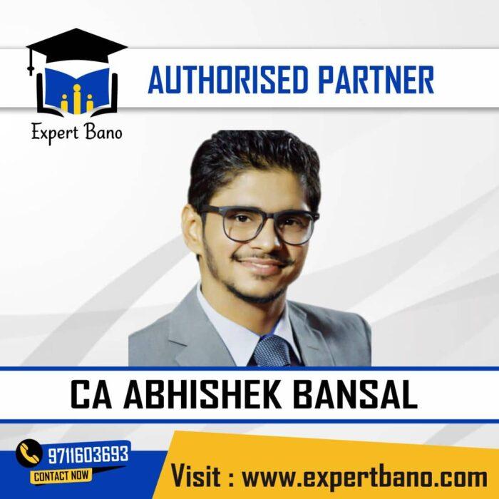 CA ABHISHEK BANSAL