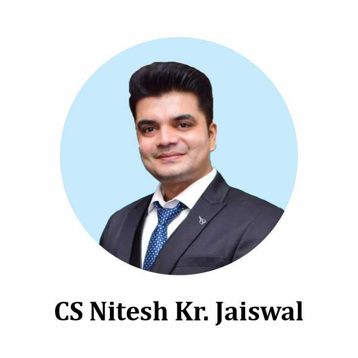 CS Nitesh Kr. Jaiswal