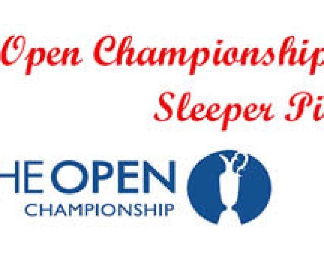 British Open Sleeper Picks