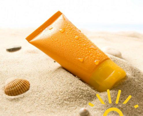 vieillissement accelere produits cosmétiques solaire