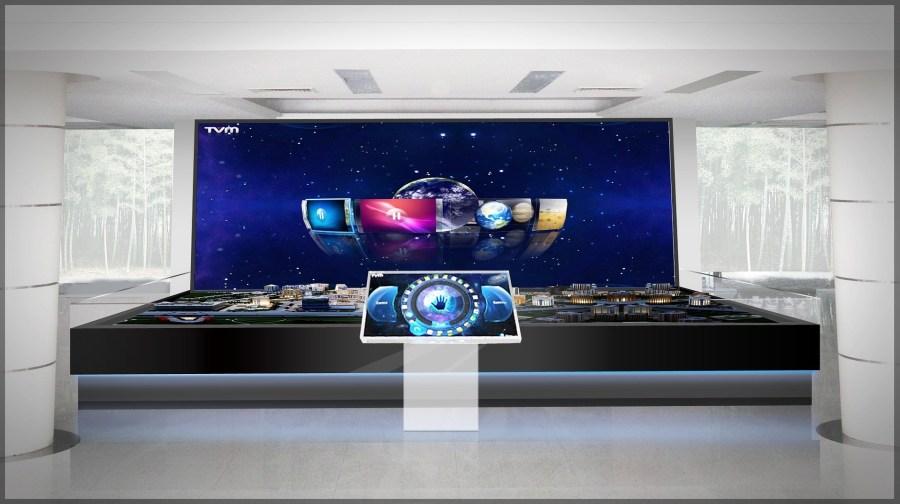 55 Zoll Fernseher sauber machen