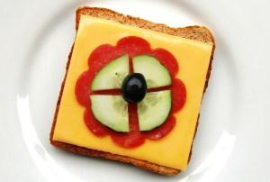 Campingtoaster Schinken-Käse Toast