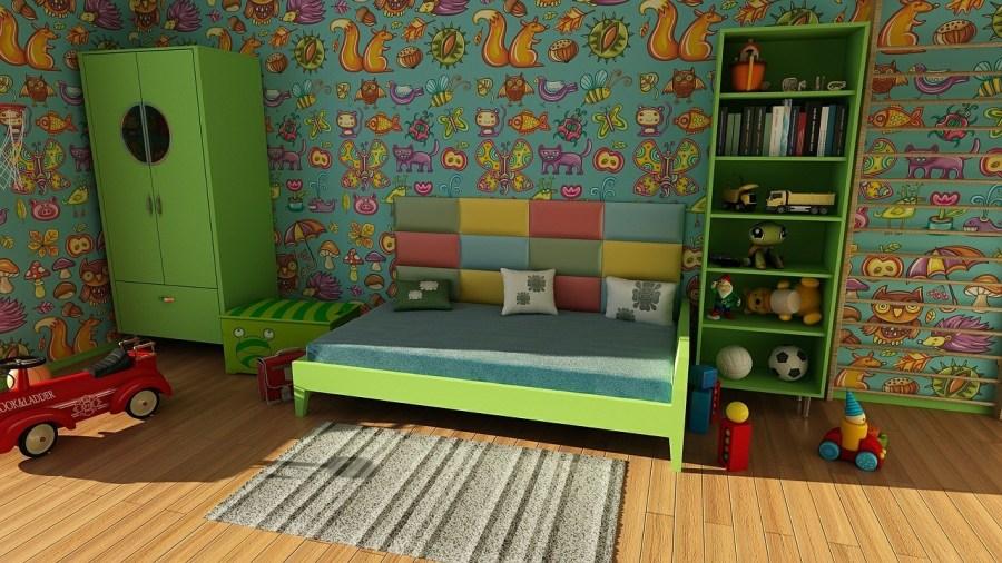 Saugroboter Kinderzimmer Teppich