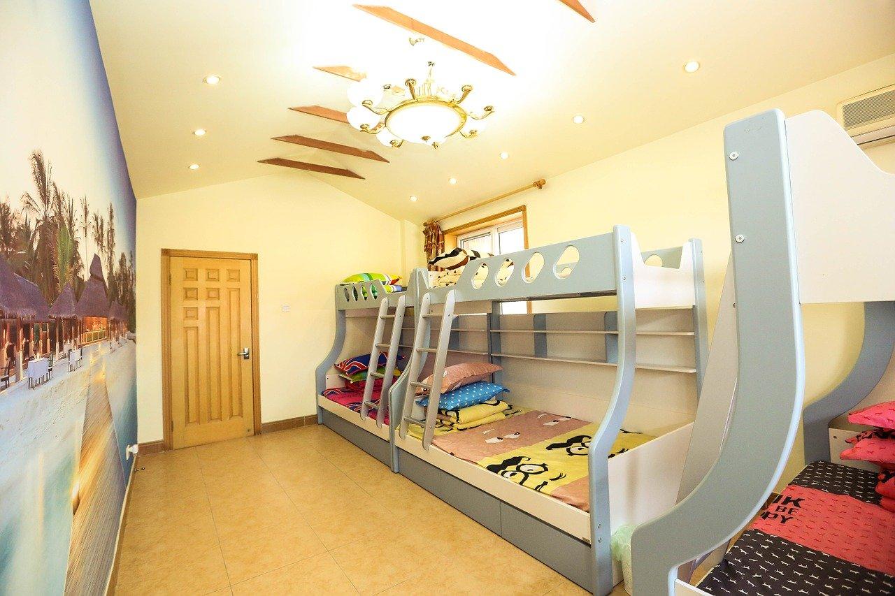 Ein Hochbett ist der Traum eines jeden Kindes.