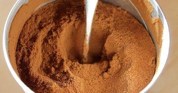 Kaffeepulver Test