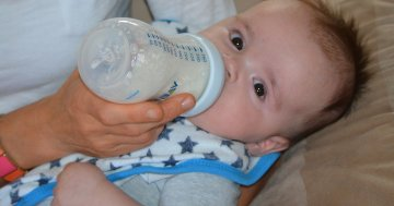 Babyflasche Test