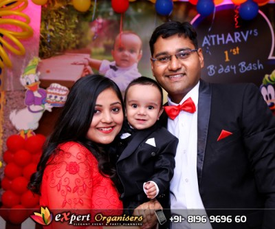 atharv-1st-birthday-party-disney-theme