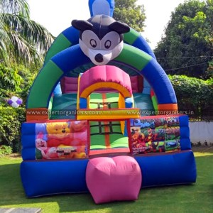 Kids Mickey Bouncy on Rent in Chandigarh, Mohali, Zirakpur