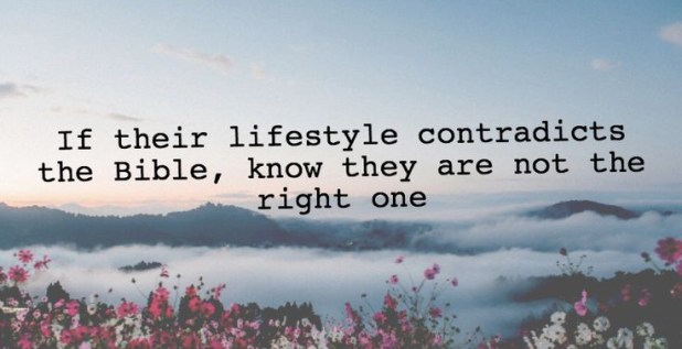 Make Sure They Are The Right One
