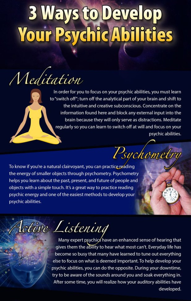 Want To Be A Psychic