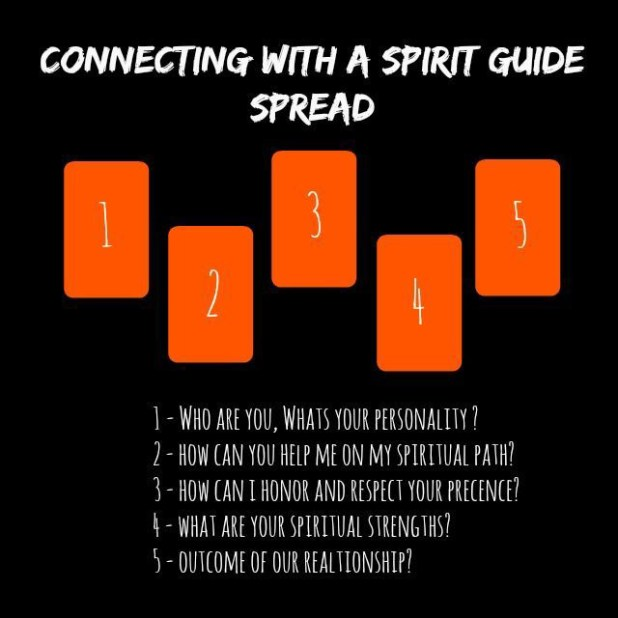 Spread To Connect With Your Spirit Guide