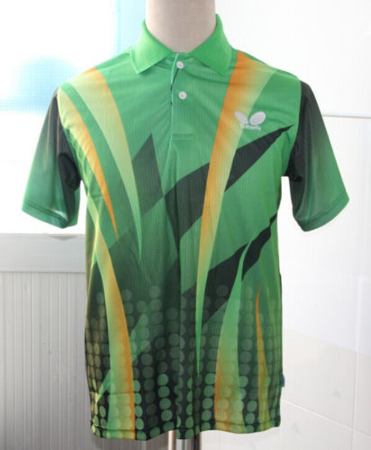 fake butterfly table tennis shirt