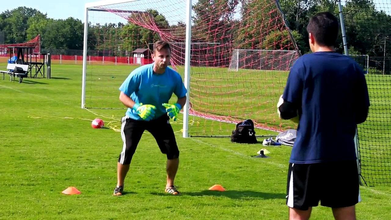 pretend you're a goalkeeper