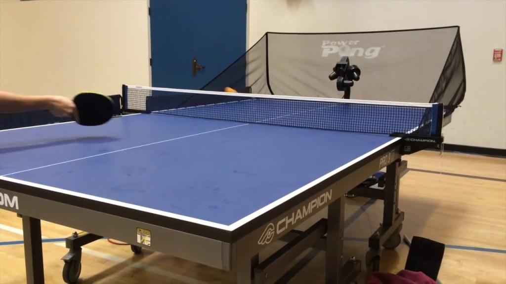 Power-Pong-3001-Table-Tennis-Robot