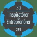 30 Inspiratörer för entreprenörer 2018