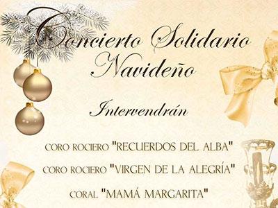 concierto navideño solidario