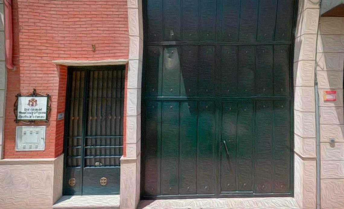Casa de Hermandad, en C/ Menéndez Pelayo de Linares.