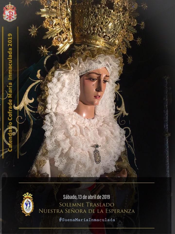 Cartel elaborado por la SFL Mª Inmaculada