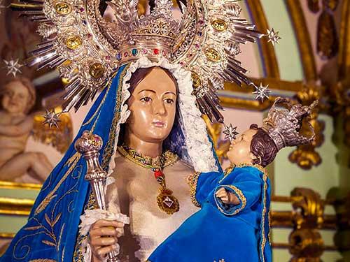 Ntra. Sra. de Linarejos Coronada