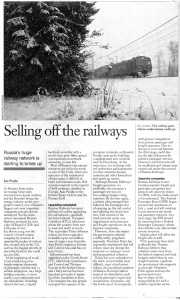Selling off the Railways by Ian Pryde Dec 2006