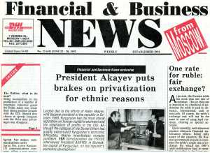 Akayev Interview by Ian Pryde June 1992 Part 1