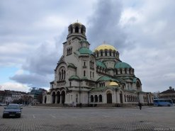 Another shot of the Orthodox church in Bulgaria. Russia donated the gold when Bulgaria ran out of money.