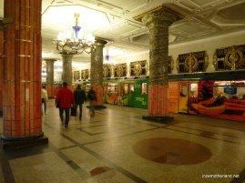 Avtovo - the most picturesque station thus far.