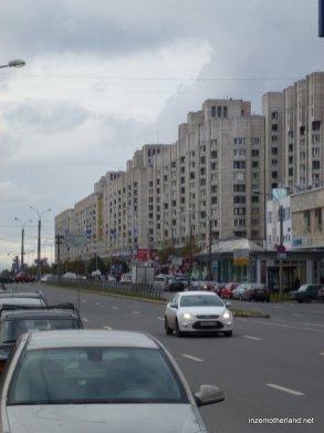 Again near Primorskaya metro.