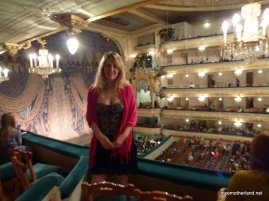 Me in the Mariinsky Theatre.