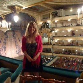 Me in the Mariinsky Theatre.