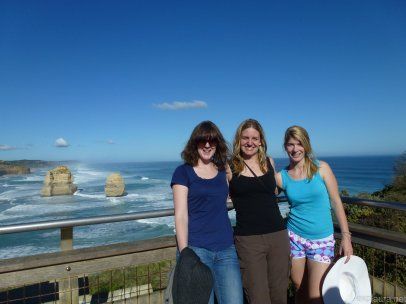 At the Twelve (ish) Apostles.