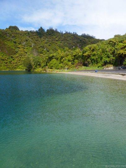 Lake Tarawera, though the thoroughly wrong end thereof.
