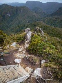 Looking down from the Pinnacles.