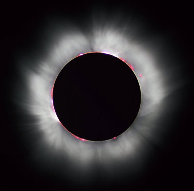 Eclipse solar total 1999