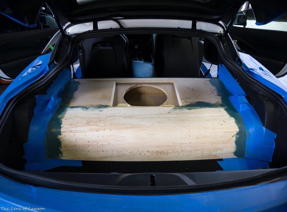 C7 Corvette Subwoofer Installation In Melbourne Jl Audio