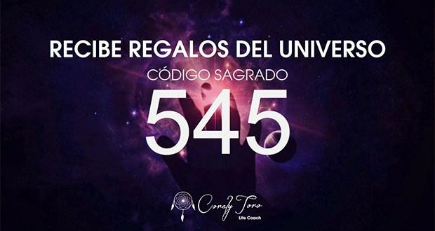Recibe Regalos Del Universo Con El Código Sagrado 545