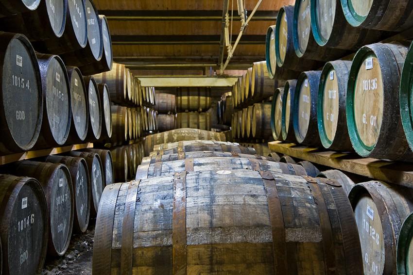Destileria de whisky