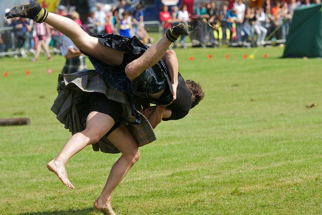 Juegos de las Highlands (Highland Games) - Photo taken by Ian Robertson