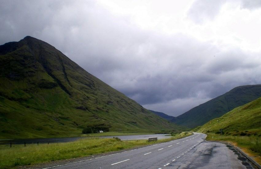 carretera Glencoe