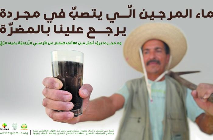 Une campagne de sensibilisation en affichage urbain à Béja