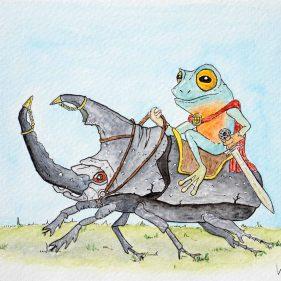 2021 - 6. Frog Horseman