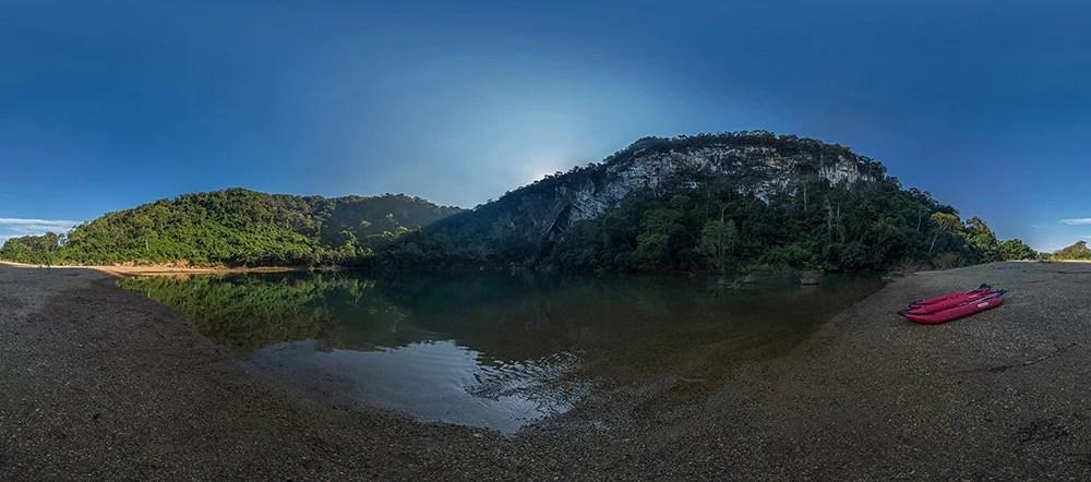 Xe Bangfai Cave Morning